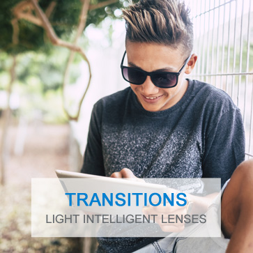 Transitions photochromic lenses for kids